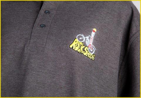 rock shocks branded clothing