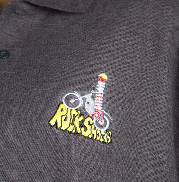 Rock Shocks Polo Shirt logo
