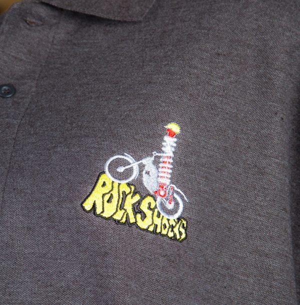 Rock Shocks Polo Shirt logo