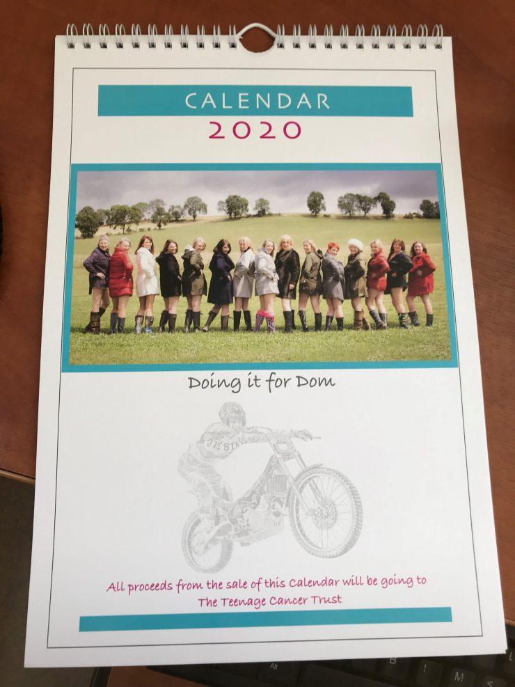 Calendar Girls Calendar 2020